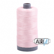 Aurifil 28 Cotton Thread - 2410 (Pale Pink)